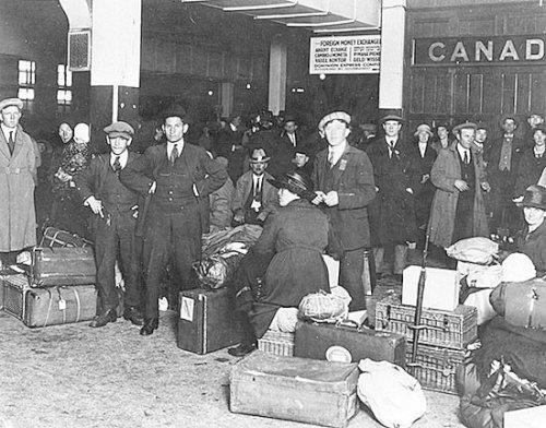 Emigranti italiani in Canada