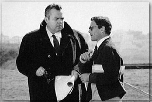 Orson Welles e Pier Paolo Pasolini